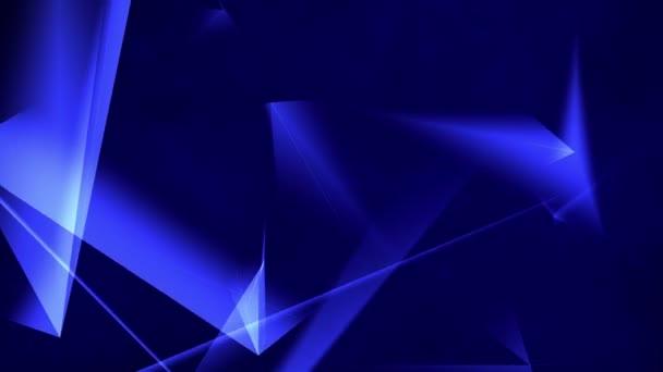 Modrá smyčka abstraktní pozadí.