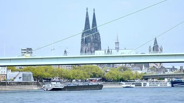 Zeitraffer Köln am Rhein