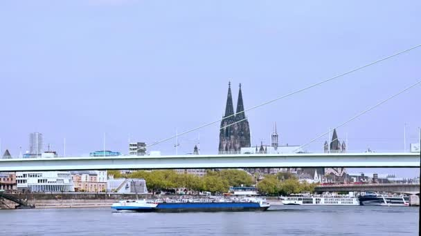 Time Lapse Kölner Dom Rhein