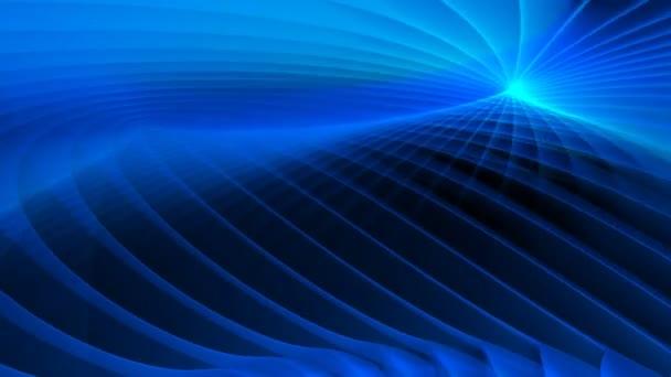 spinning modré abstraktní pozadí