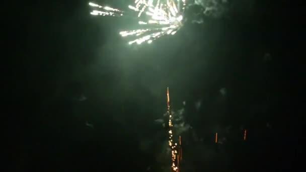 sylvester eve Novoroční ohňostroj