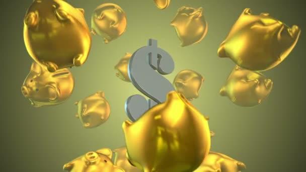 Piggy bank finance peníze podnikání