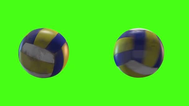 ball sport green screen 3d model
