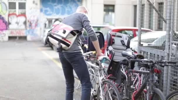 cyklista kolo městské závodní kolo