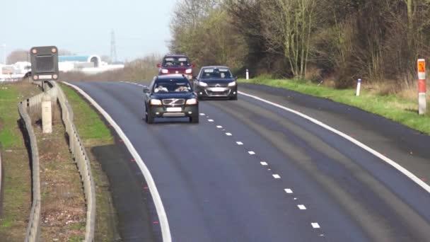 auta dálniční rychlost pohybu dopravních
