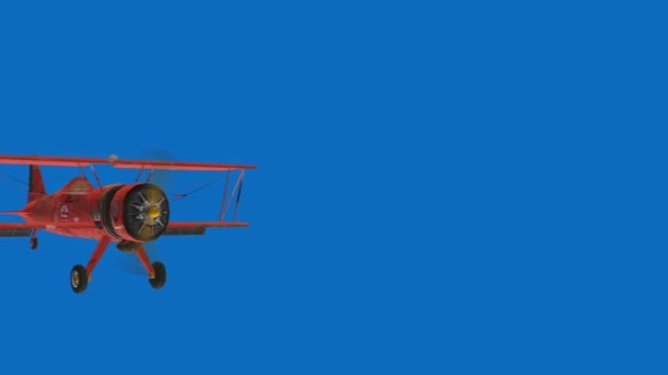 Retro letecké letadlo sky vintage