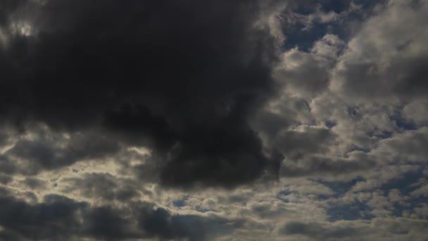 video z času zanikla mraky sky atmosféry