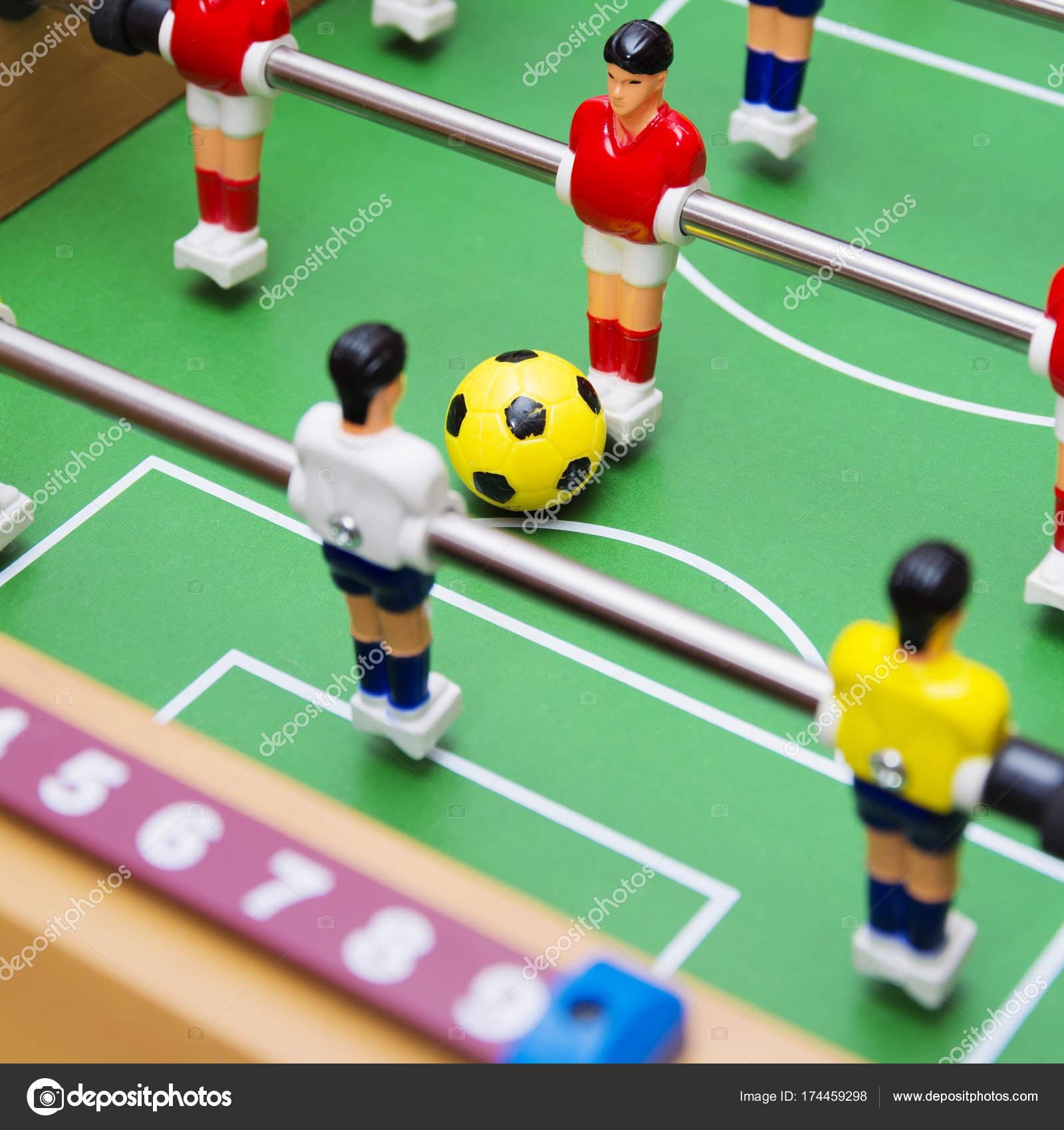 Imagenes Ver Futbolin Juego De Futbol Del Futbol De Mesa Cerca