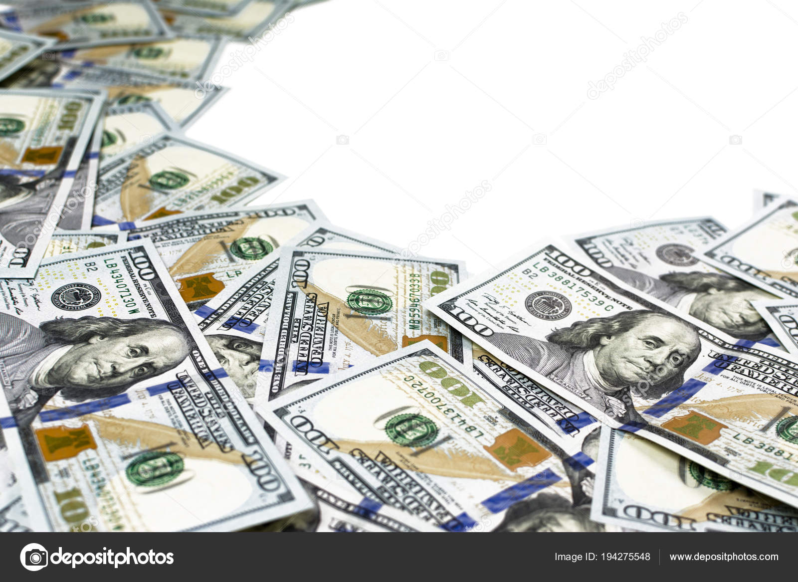 Frame made of many one hundred dollar bills – Stock Editorial Photo ...