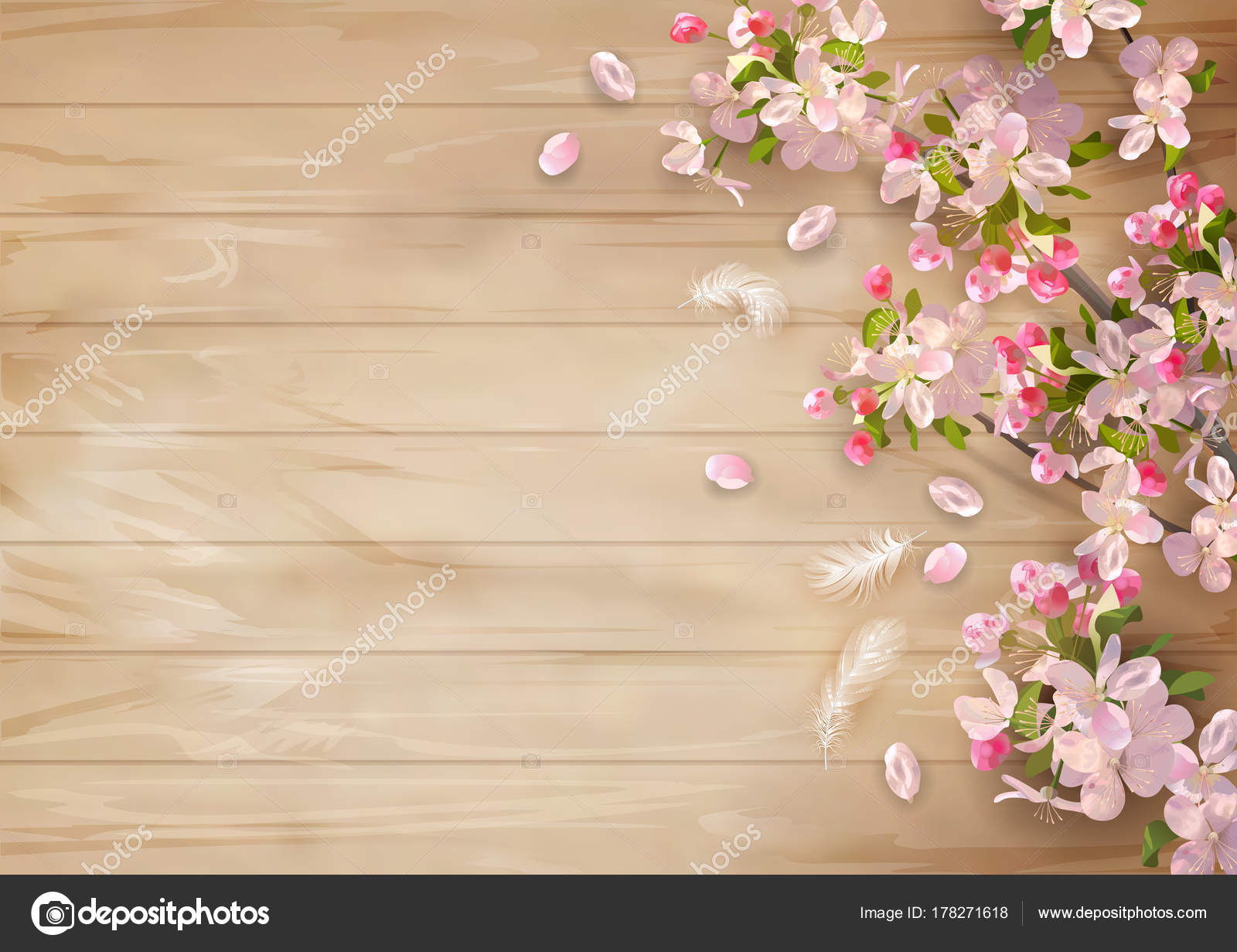 Spring Flower Background Images: Background With Spring Flowers
