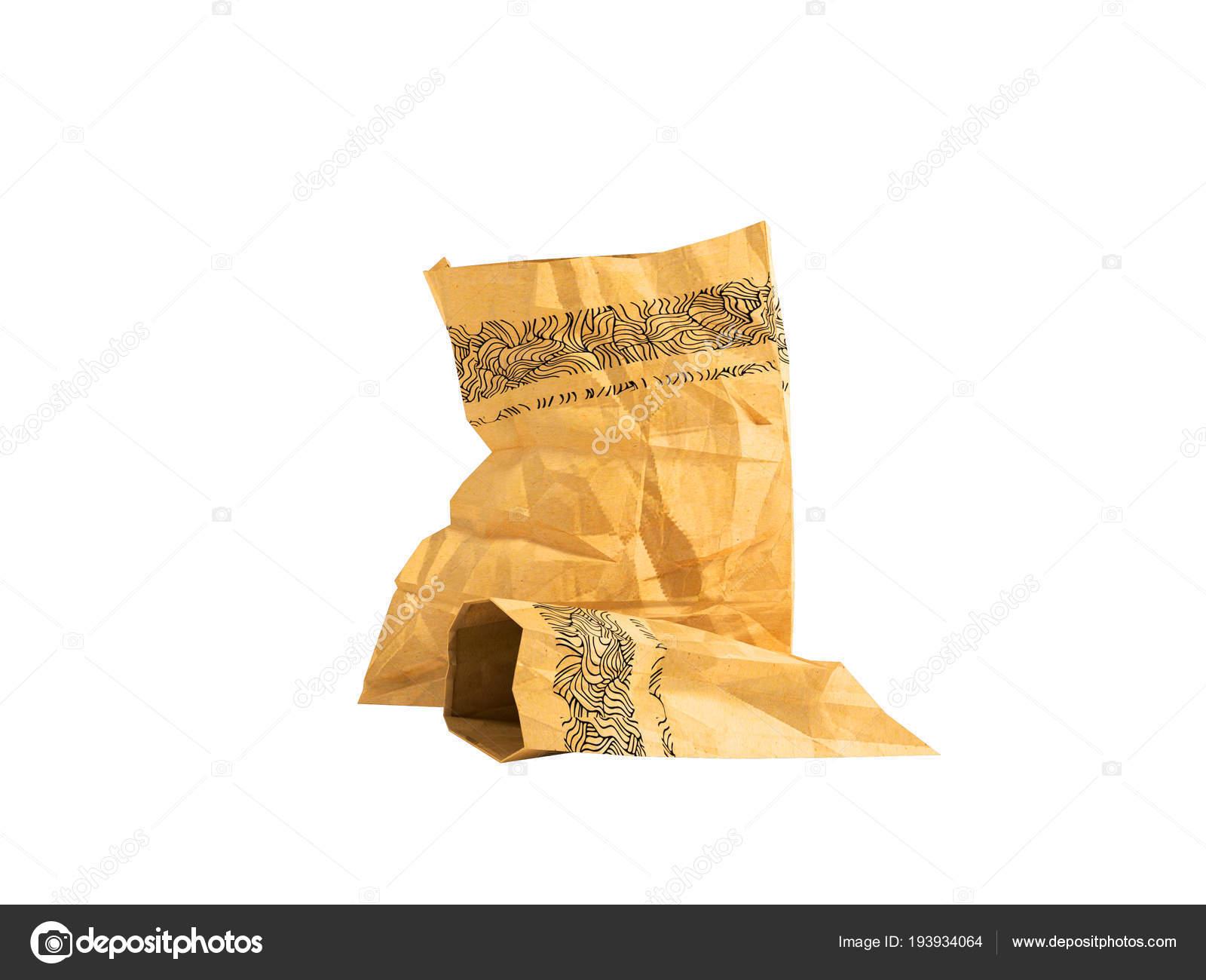 De Papieren Zak : Papieren zak groot en klein om te winkelen in de supermarkt winkel