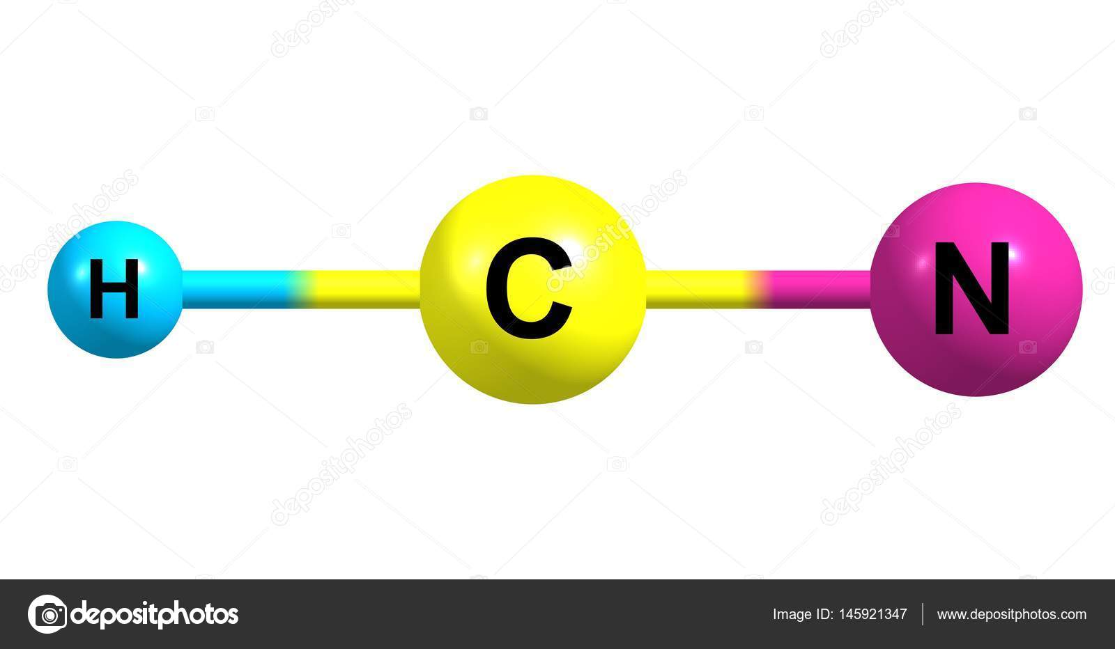 Hydrogen cyanide molecular structure isolated on white stock hydrogen cyanide molecular structure isolated on white stock photo buycottarizona Choice Image