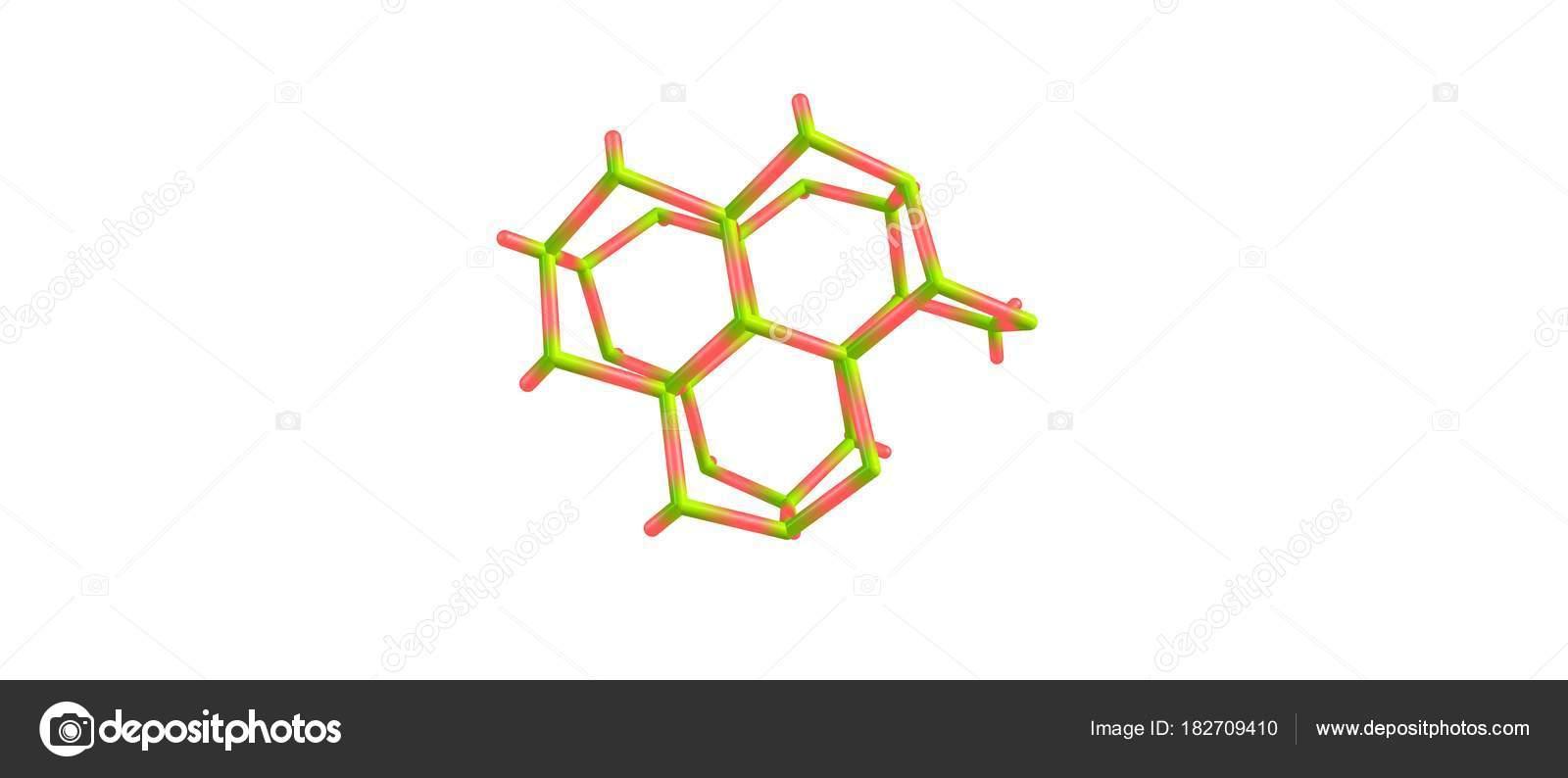 Estructura Molecular Del Hielo Sobre Fondo Blanco Foto De
