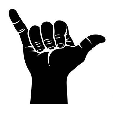Shaka hand sign 002