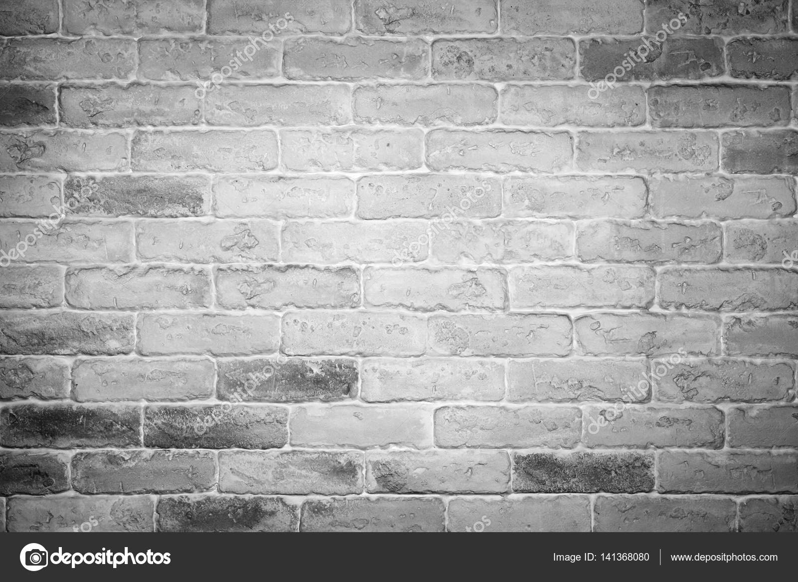 Muro Bianco E Grigio white and grey brick wall background — stock photo © felker