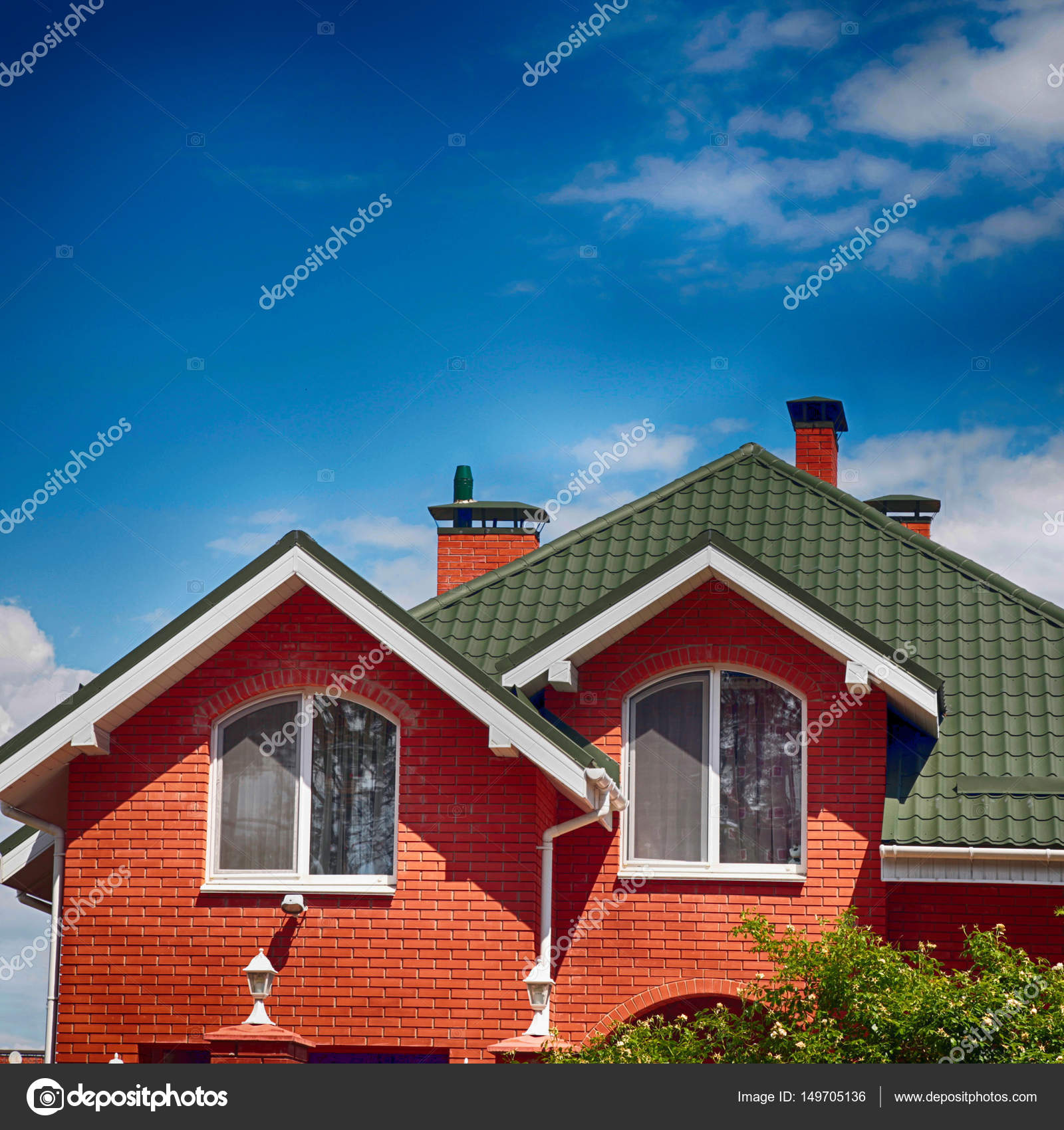 Innovative Home Layouts Progressively Popular From This Period, And This  Also Zeichnung Des Schönen Hauses Photo Stock Additionally Provides A Lot  Of Snap ...