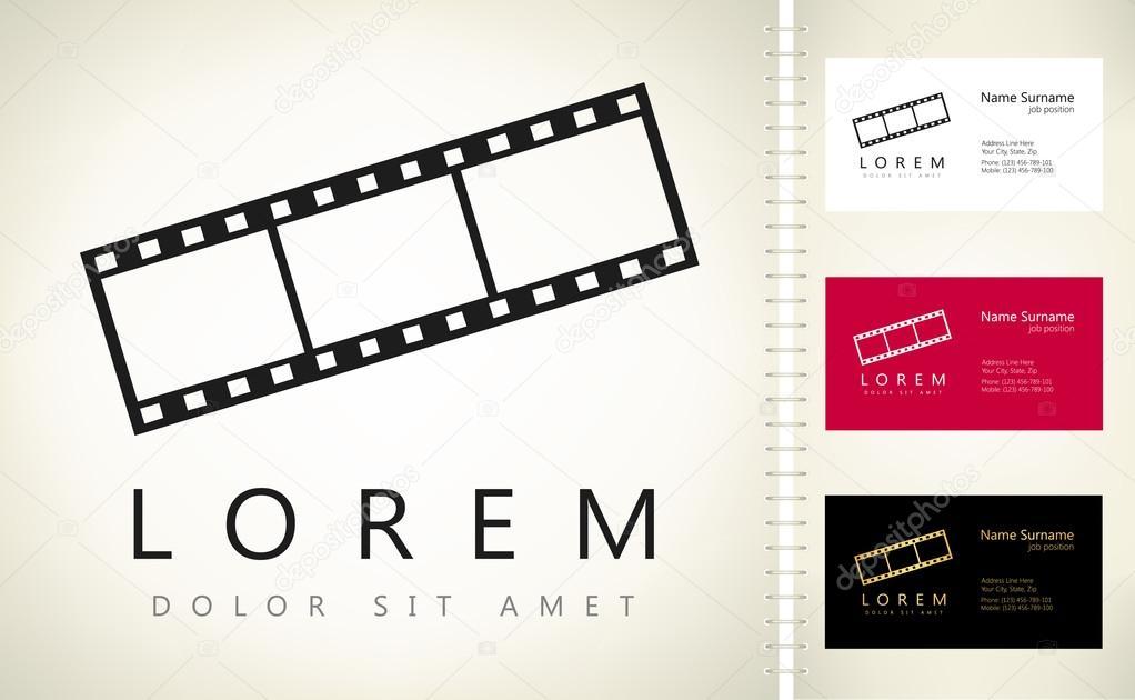 Cine de marco, logo vector — Archivo Imágenes Vectoriales © barcova ...