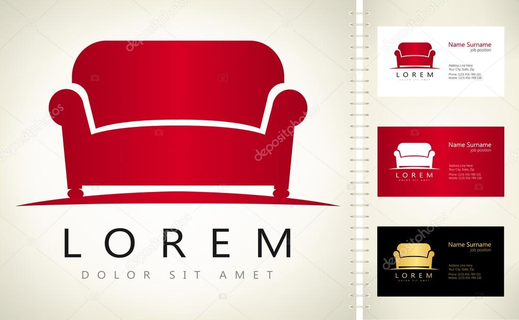 Furniture Sofa Vector Stock Vector C Barcova Natalia 127565400