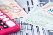 Financování grafiku s penězi