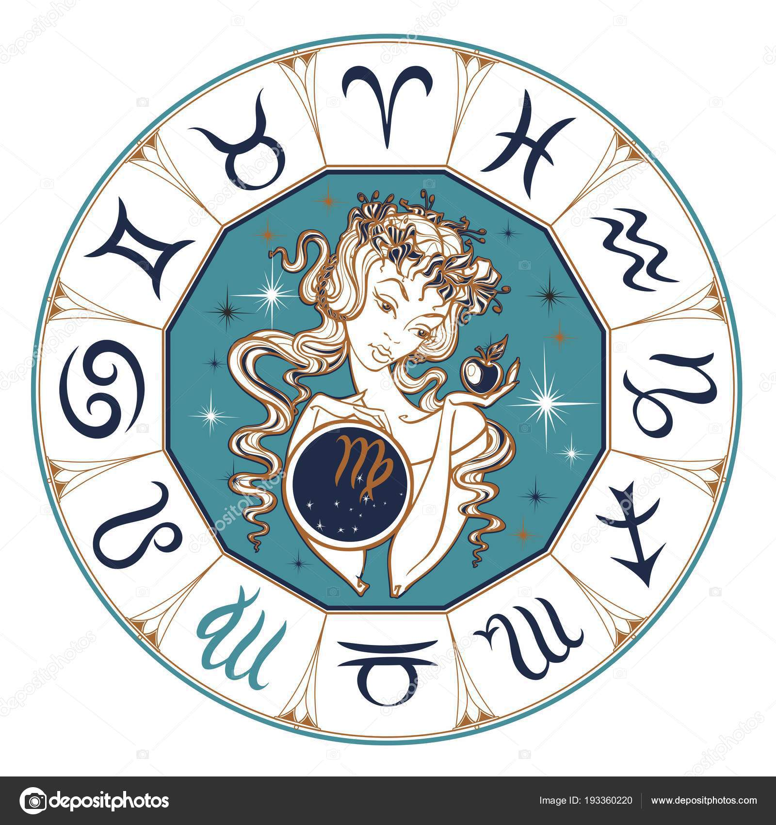 horoscope vierge in english
