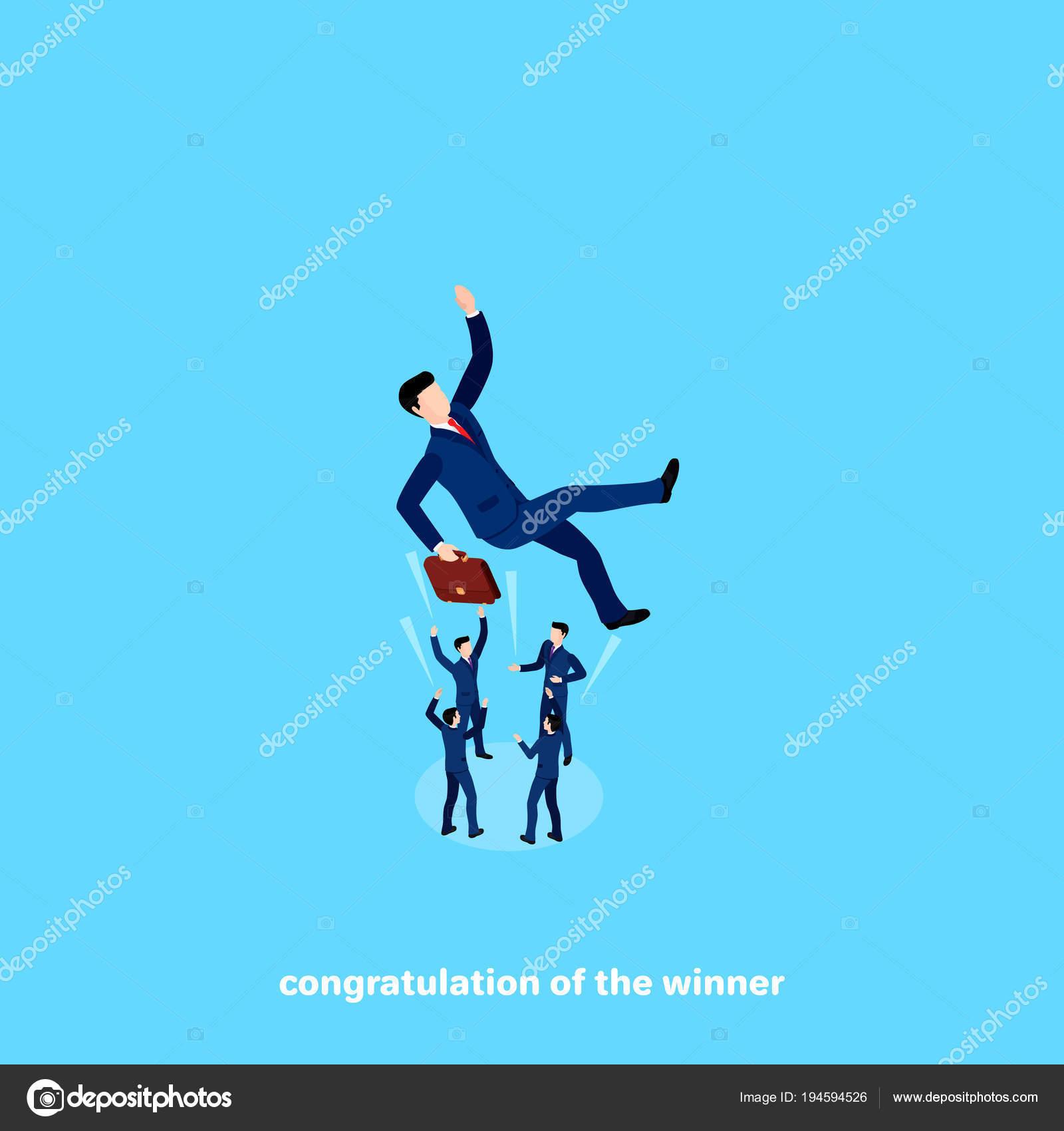 Поздравления успехом работы