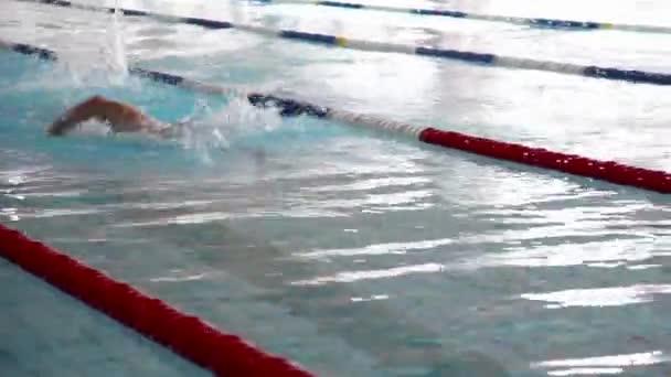 Přizpůsobit žena plavání