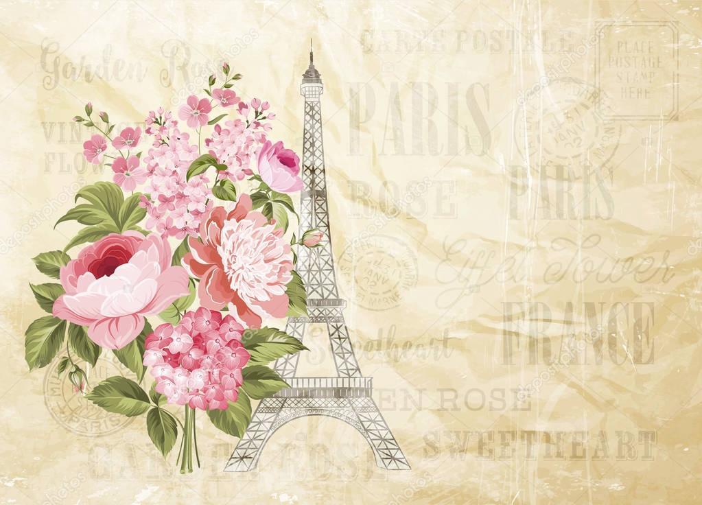 Fondos De Tarjetas Torre Eiffel