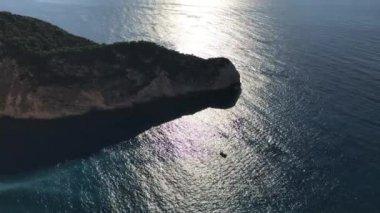 Idyllic view of beautiful Navagio Beach on Zakynthos Island in Greece