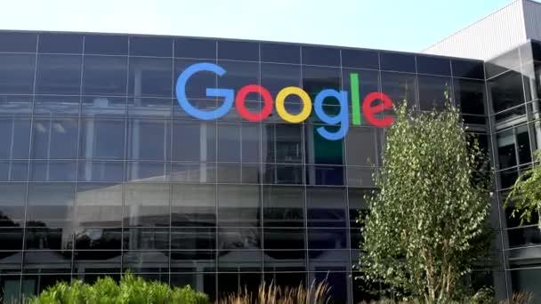 sídlo společnosti Google a logo