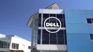 Dell Computer Coporate Facility and Logo