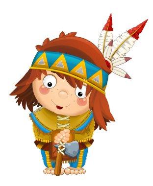 Cartoon indian character
