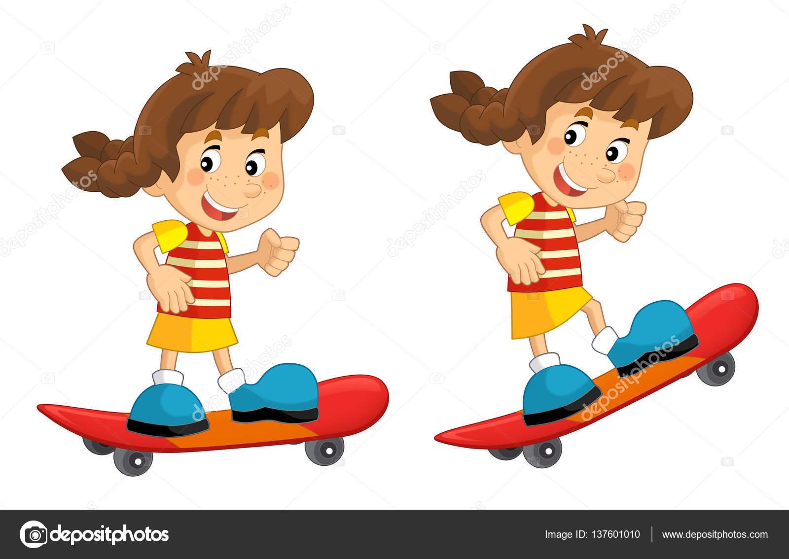 dibujos animados en movimiento niño de dibujos animados en