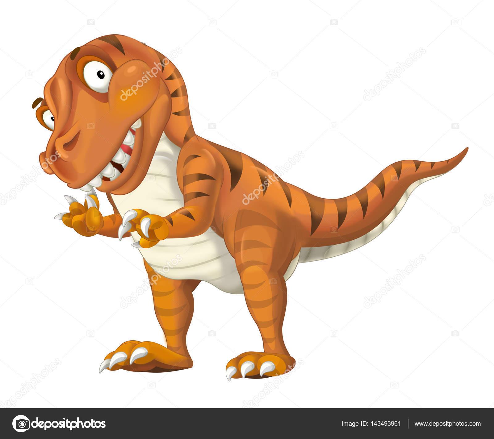 Tyrannosaure dinosaure dessin anim photographie - Dessin de tyrannosaure ...