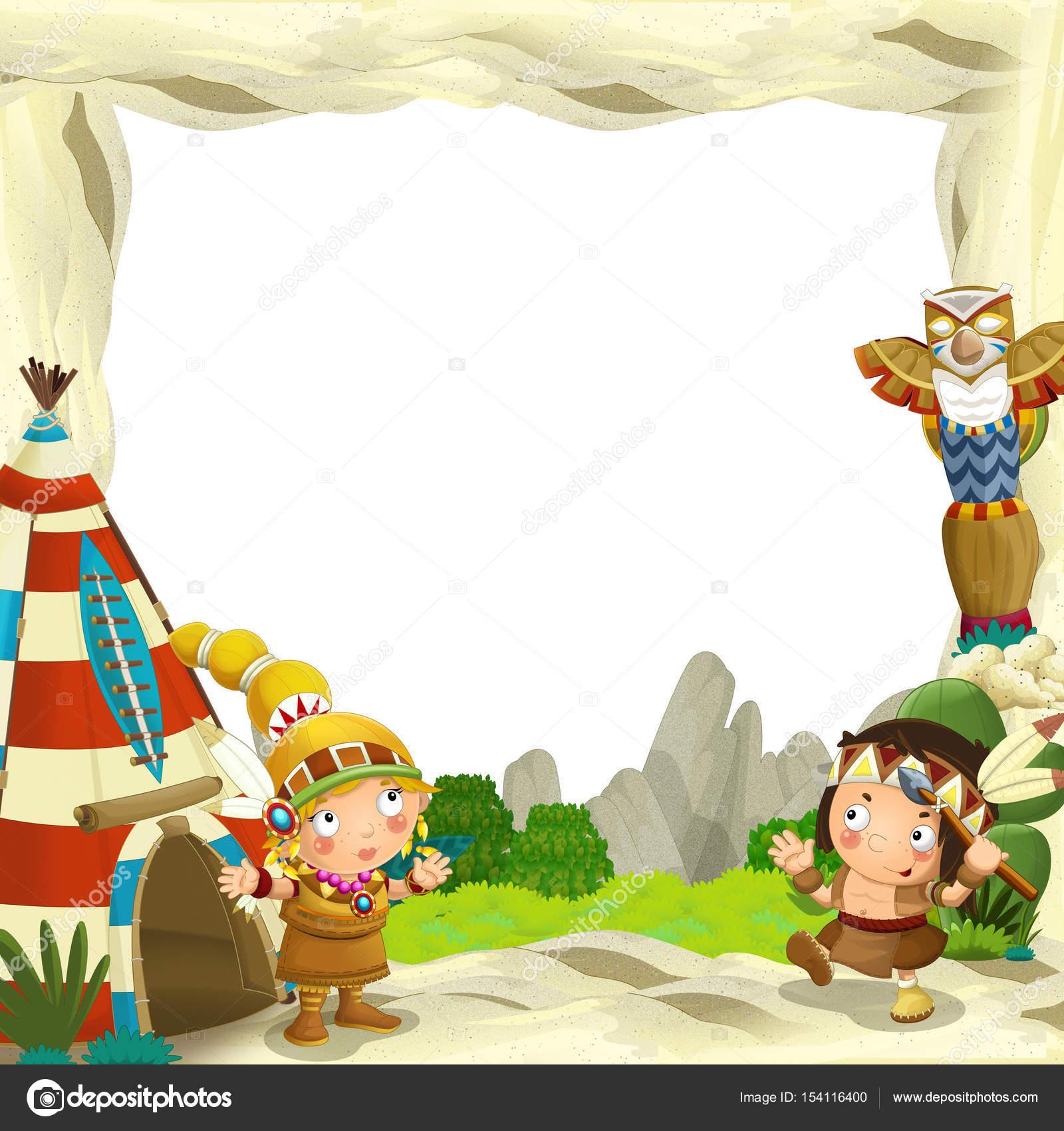 Marco para el uso de diferentes caracteres indios — Foto de stock ...