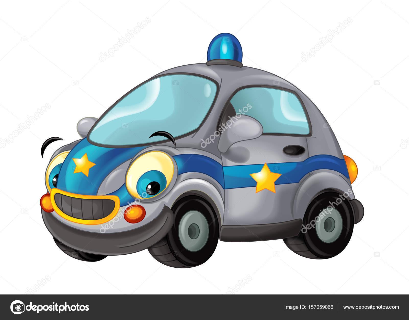 Voiture de police de dessin anim photographie illustrator hft 157059066 - Voiture police dessin anime ...