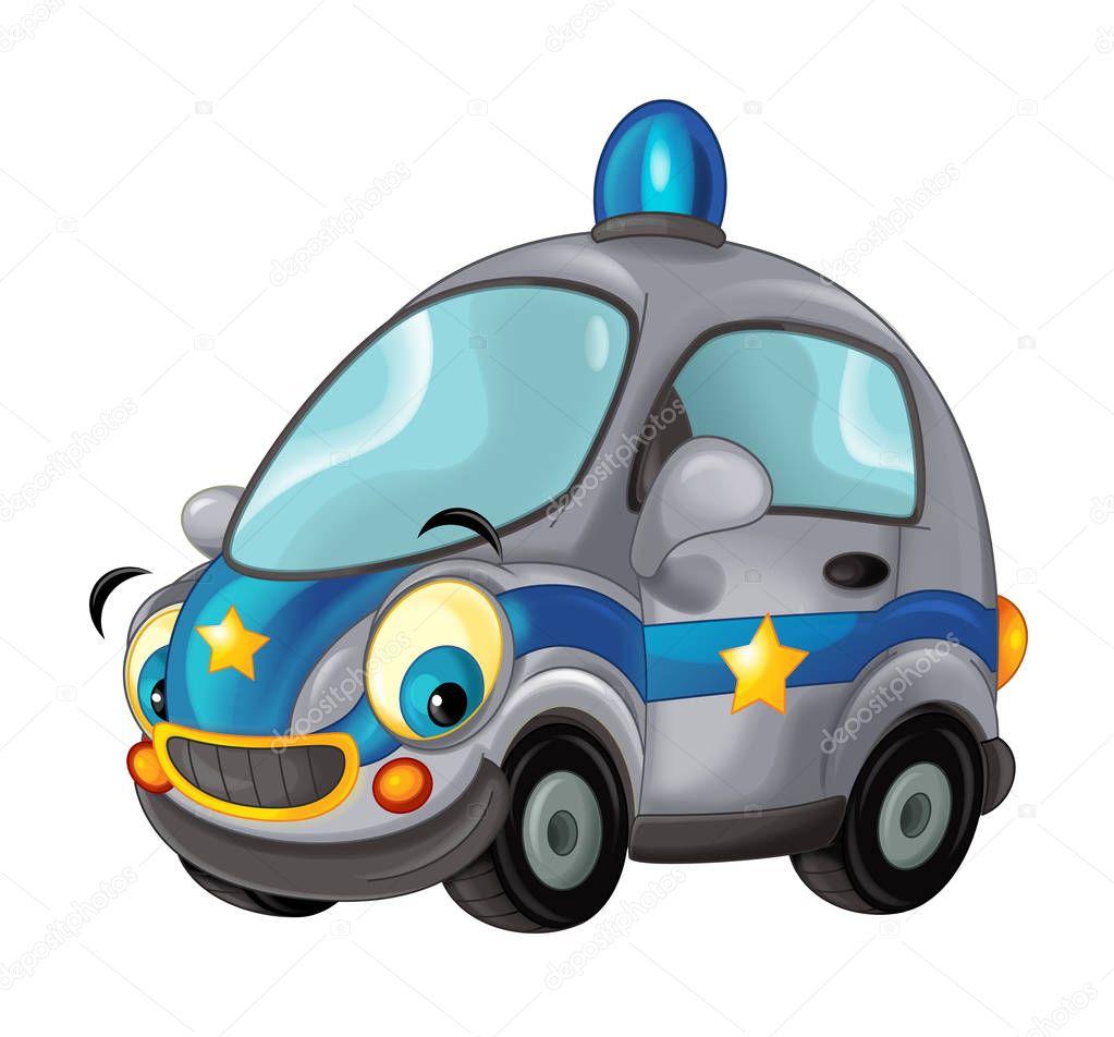 Voiture de police de dessin anim photographie illustrator hft 157448424 - Voiture police dessin anime ...