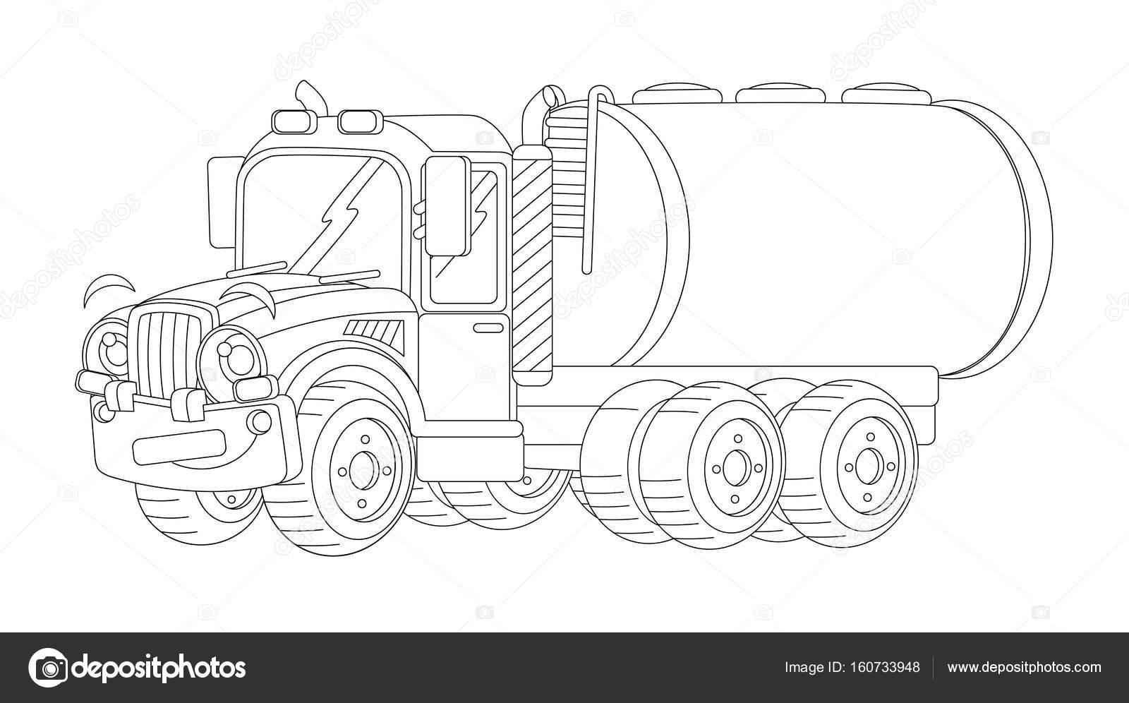 Kleurplaat Woezel En Pip Regenboog Vrachtwagen Kleurplaat