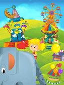 rajzfilm gyerekeknek egy játszótér a szórakozás