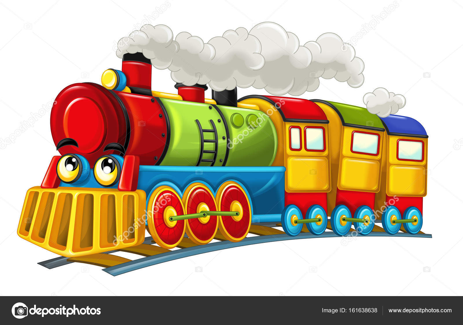 Dessin anim dr le la recherche de train vapeur photographie illustrator hft 161638638 - Train dessin anime chuggington ...