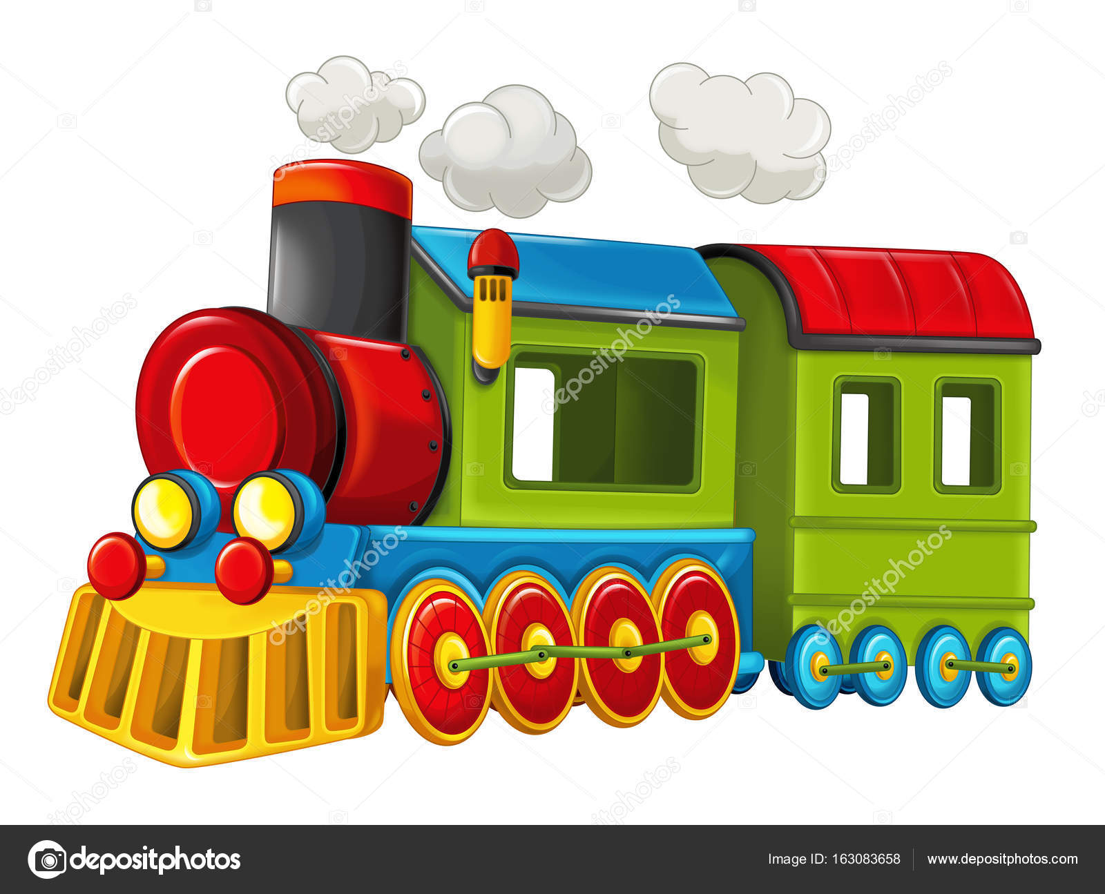 Dessin anim dr le la recherche de train vapeur photographie illustrator hft 163083658 - Train dessin anime chuggington ...