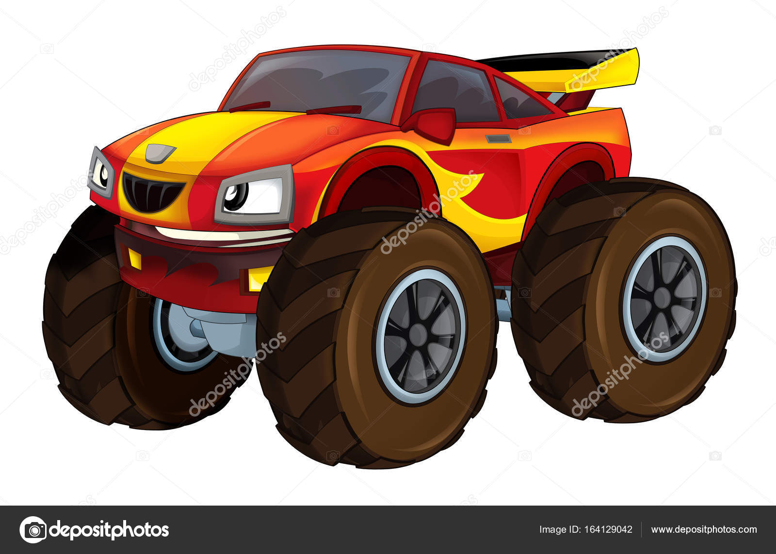 ᐈ Monster Truck Stock Pictures Royalty Free The Monster Trucks Drawings Download On Depositphotos