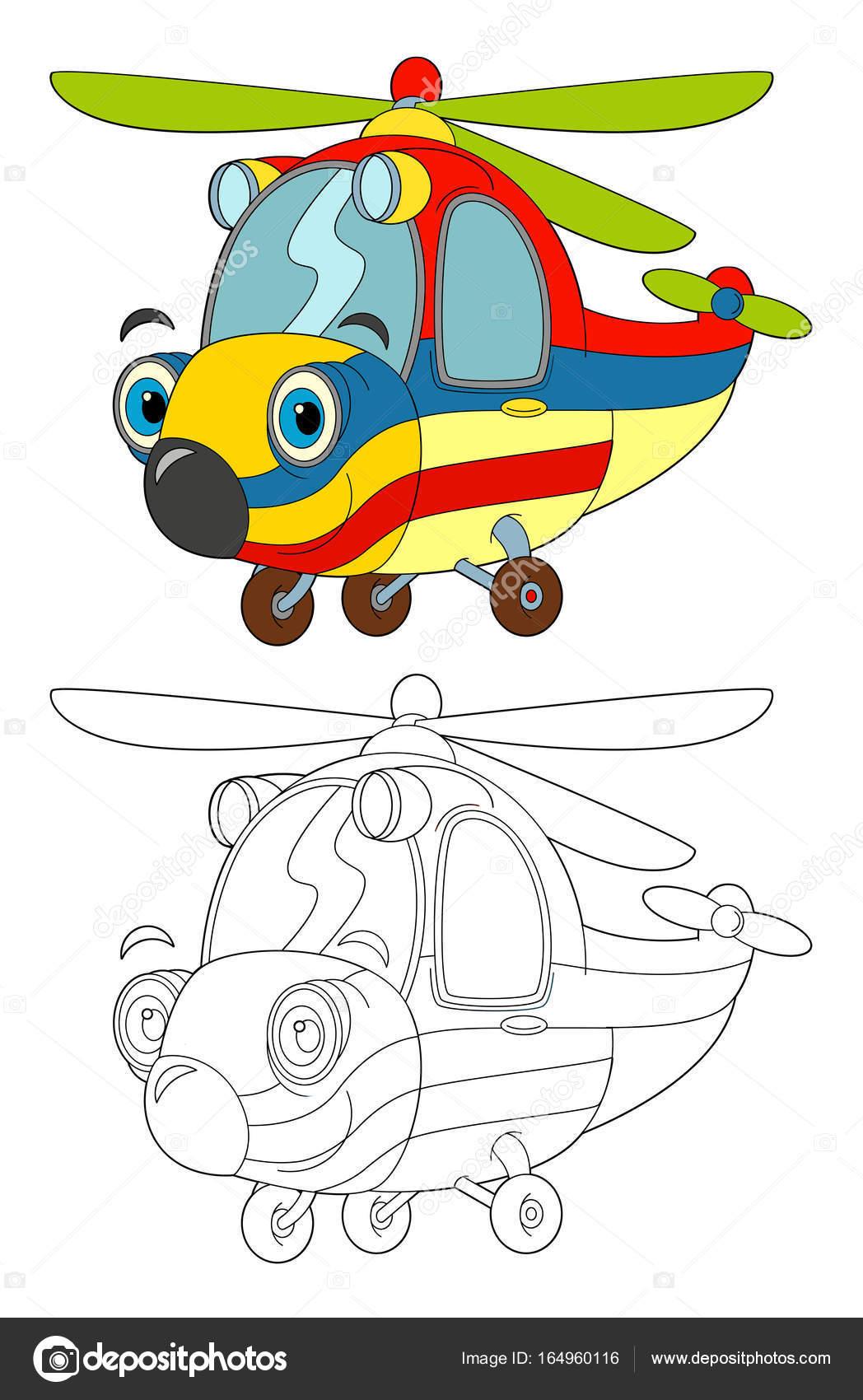 Kleurplaat Ambulance Helicopter Archidev