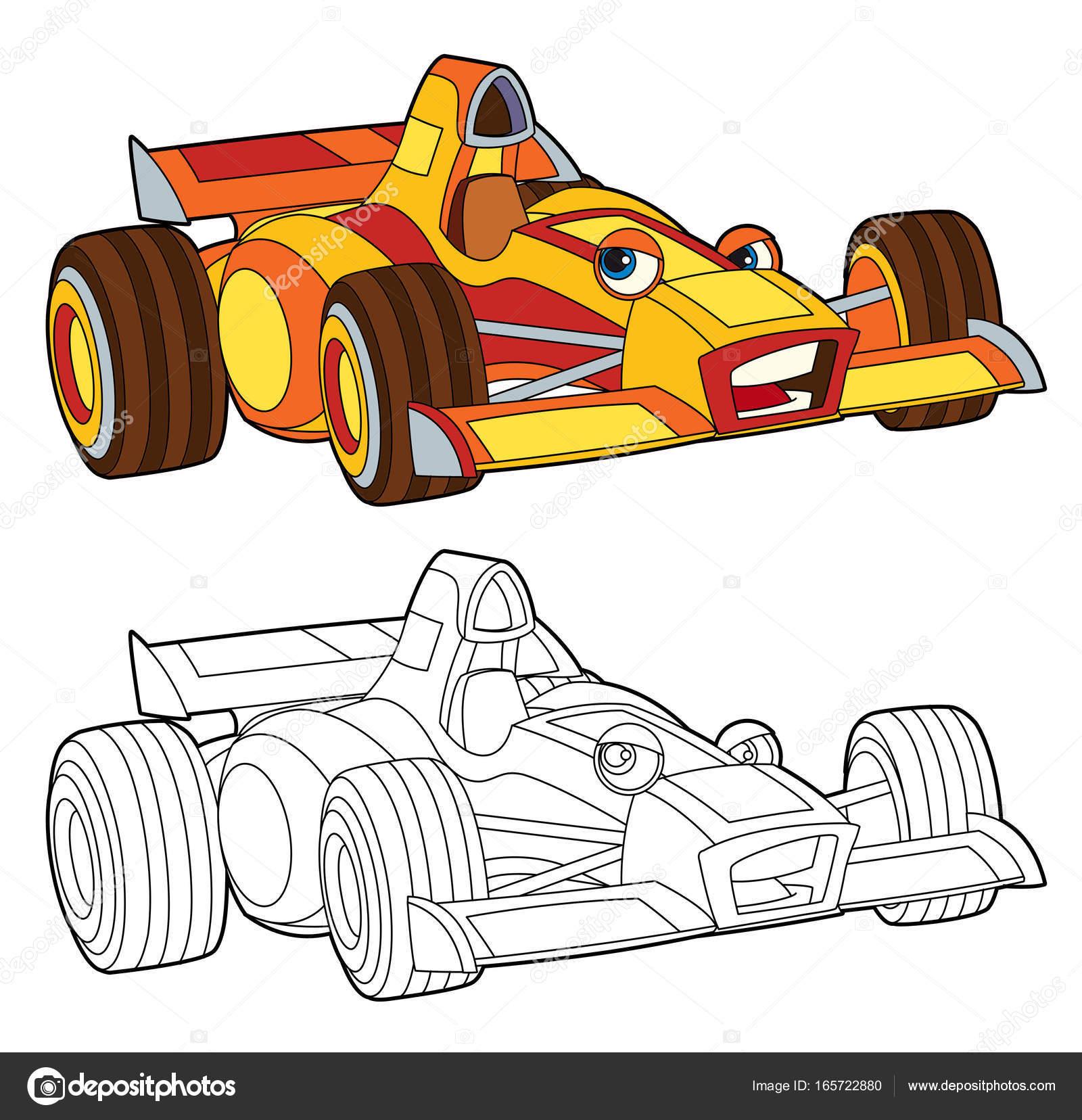 kleurplaat ge 239 soleerde racewagen stockfoto