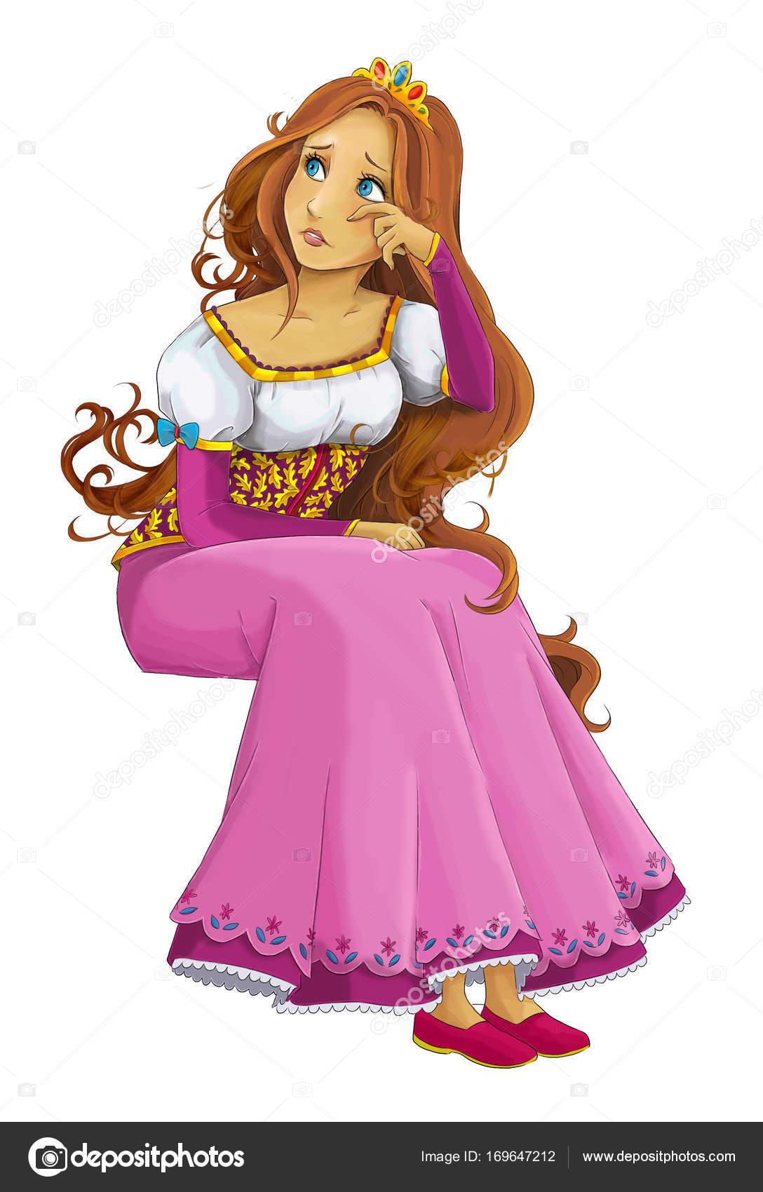 Imágenes Castillos Animados Princesas Joven Princesa