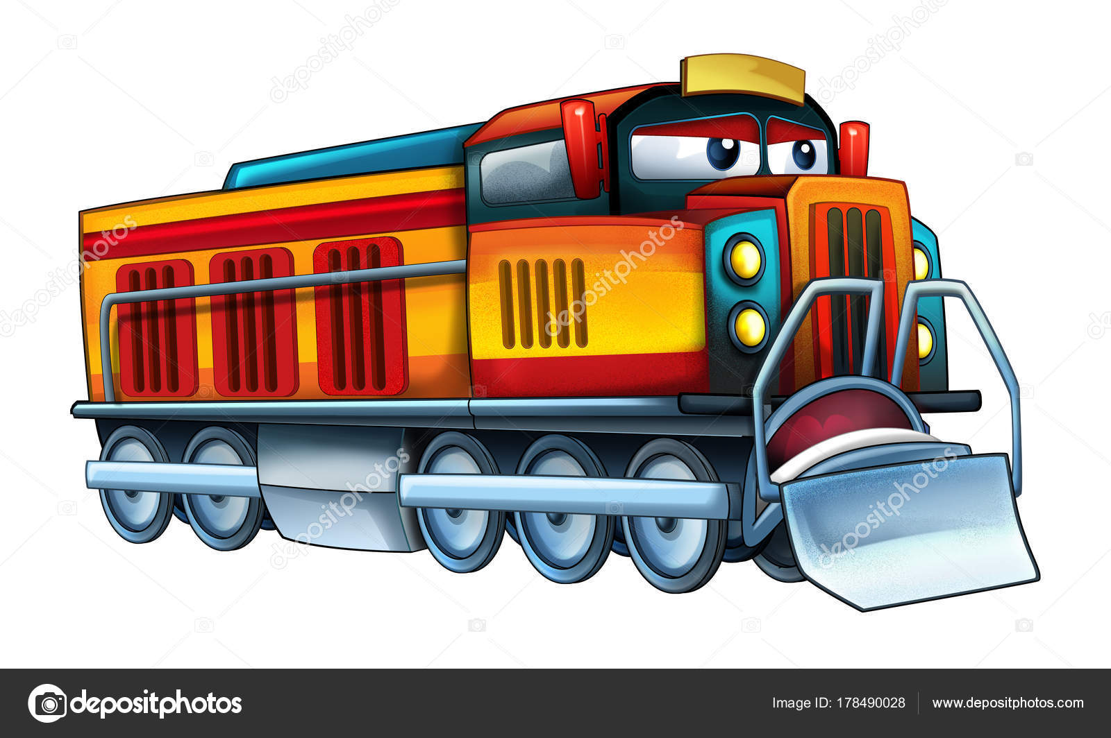 Full Download Caricatura De Trenes Dibujos Animados
