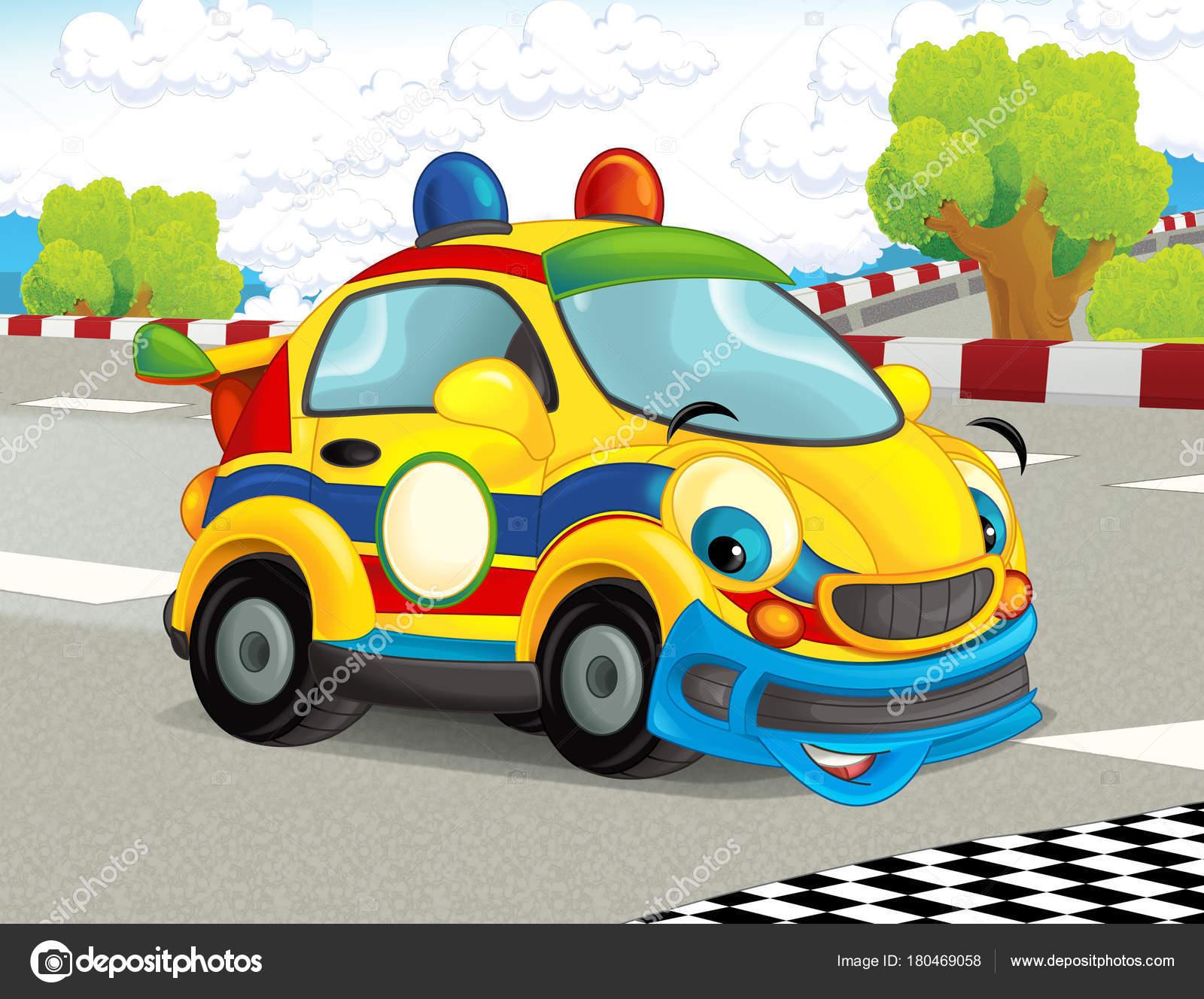 Dessin anim dr le joyeux recherche voiture course sur - Course de voiture dessin anime ...
