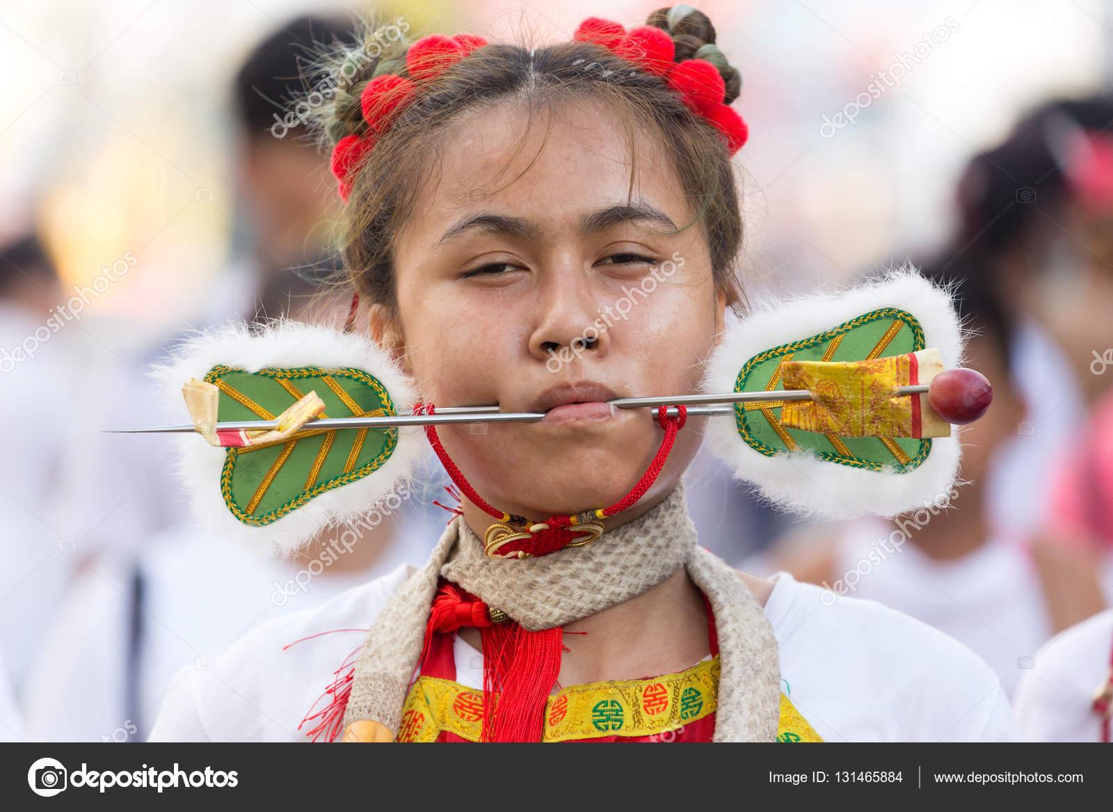 Taoist devotee extreme piercing – Stock Editorial Photo © smithore ...