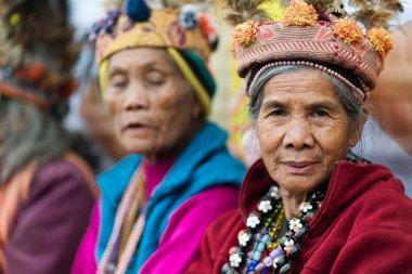 Filipino senior Ifugao tribe woman