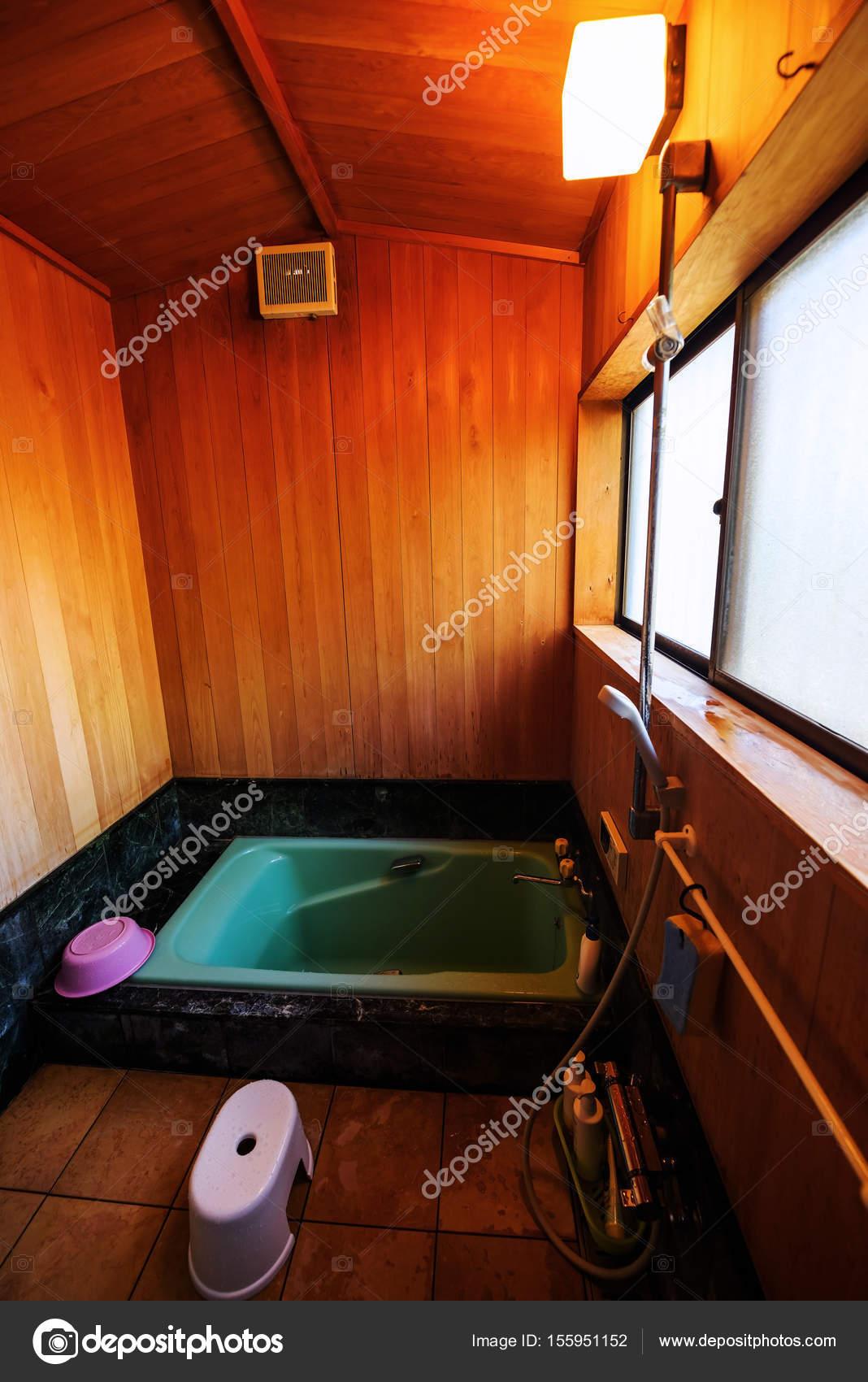 Salle De Bain Japonais ~ salle de bain de style traditionnel japonais photographie