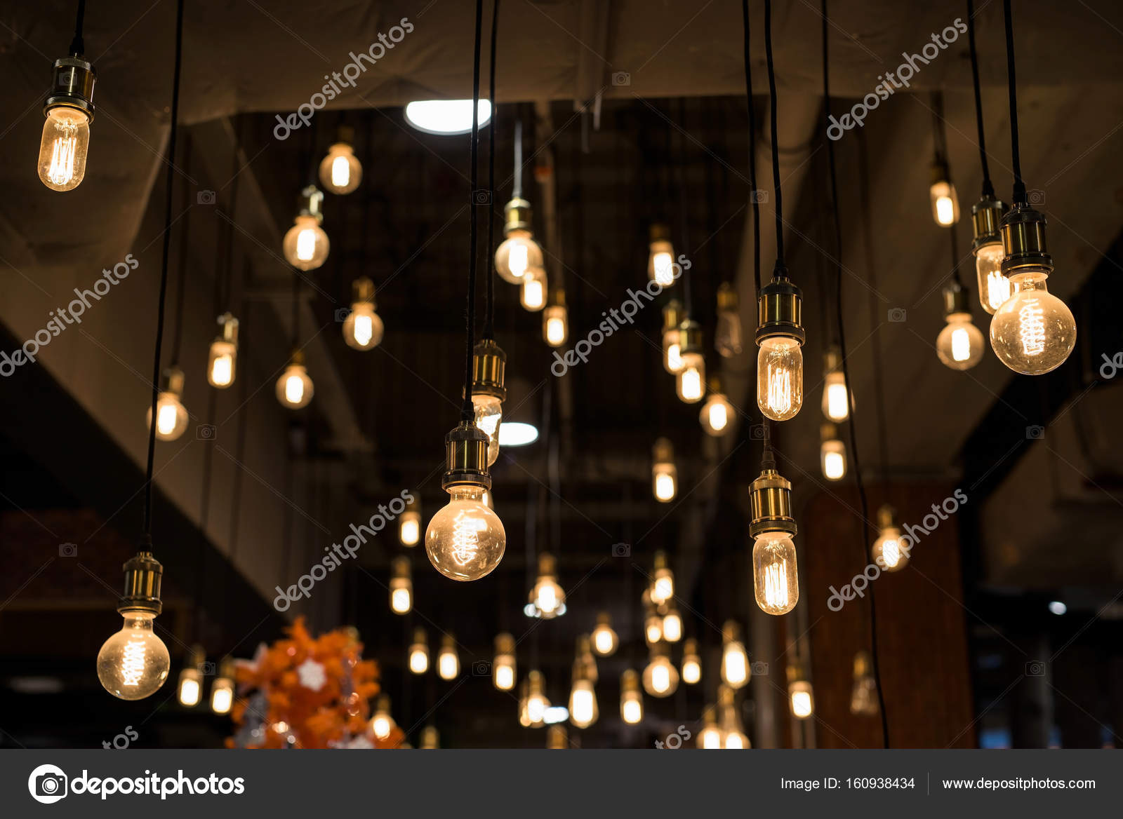 interieur lampen stockfoto